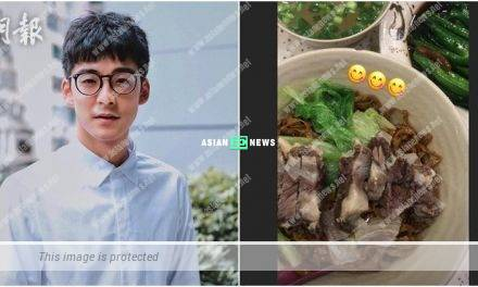 Dickson Yu resumes to his normal life and enjoys a good appetite