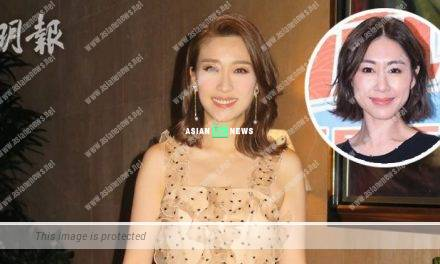 Nancy Wu is rumoured to leave TVB; Elaine Yiu shows her support