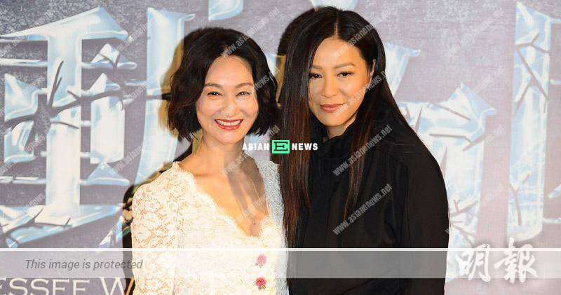 Joyce Tang acts as Kara Hui's daughter in the stage play