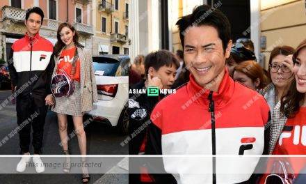 Kevin Cheng and Grace Chan travel to Italy; She said he is very good looking