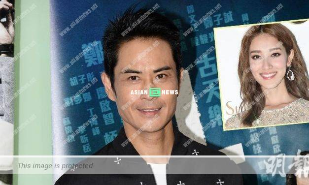 Kevin Cheng only shows a happy face to his wife, Grace Chan