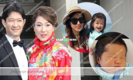 34 years old Linda Chung gives her good luck to everyone