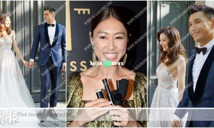 Nancy Wu graciously gives her blessing to Ruco Chan
