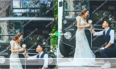 Phoebe Sin accepts Ruco Chan's marriage proposal in England