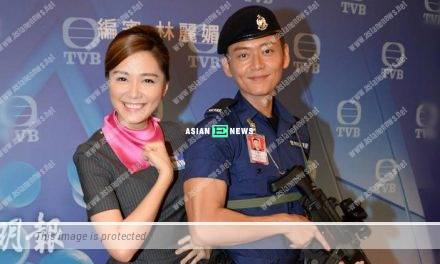 Roxanne Tong and Owen Cheung have kissing scene in new drama