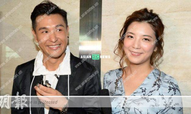Phoebe Sin is unused to her new status; Ruco Chan loves to attend activities together