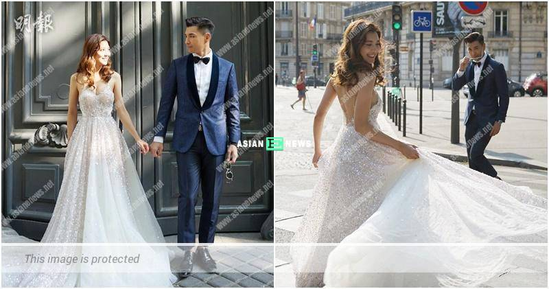 Ruco Chan and Phobe Sin use their wedding photos to tell their love story