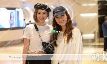 A bit dry? Samantha Ko and Roxanne Tong watch movie by themselves