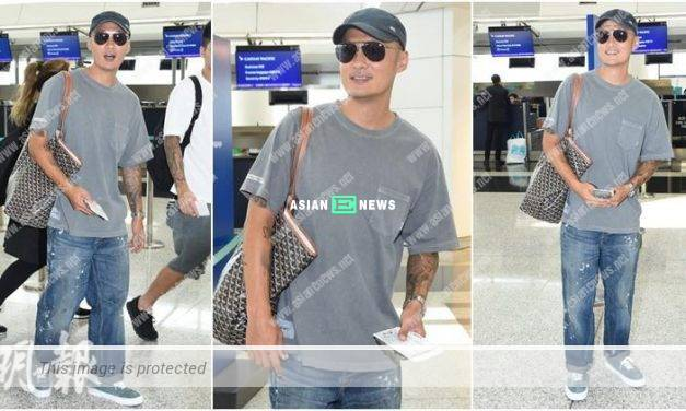 Shawn Yue travels to Shanghai to shoot an advertisement