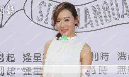 Shirley Yeung feels contented to perform on the stage during beauty pageant
