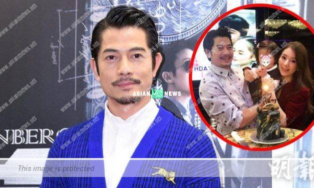 Aaron Kwok is a simple person and his family is his motivation