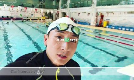 "Alex Fong ""punishes"" the student at the swimming school?"