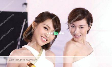 Annie Liu and Bella Lam shoot skincare advertisement together