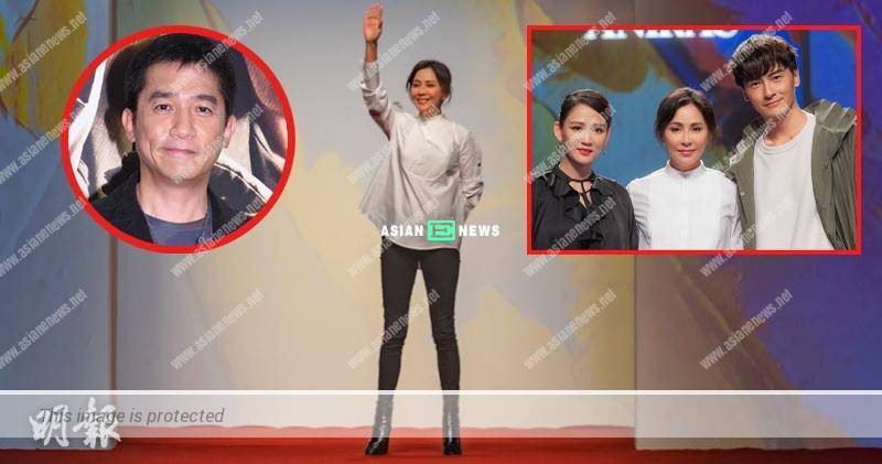Carina Lau appears in fashion show again, Tony Leung records video clip to show support