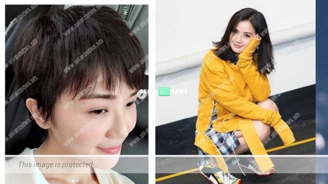 Charlene Choi cuts her hair short and resembles Faye Wong?