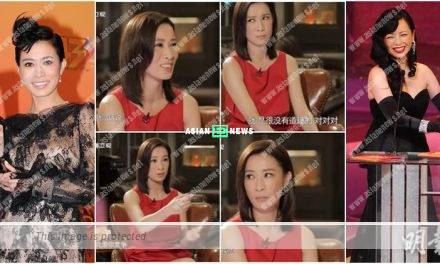 Unhappy with TV Queen, Sheren Tang? Charmaine Sheh looks at her fringe only