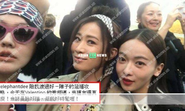 Dee Hsu transforms into a fan upon seeing Charmaine Sheh and Wu Jinyan