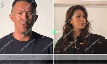Amusing MV: Louis Cheung looks emotional while Chrissie Chau is depressed