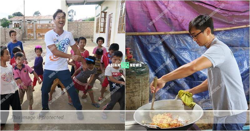 Fred Cheng visits the orphanage in Myammer: I hope to sponsor more children