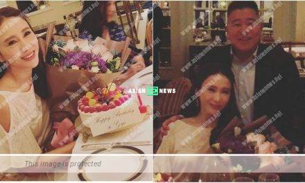 47 years old Gigi Lai celebrates her birthday with her husband