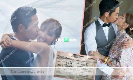 Kevin Cheng and Grace Chan hide their new address when registering their marriage