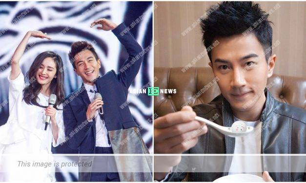 Where is Yang Mi's blessing? Hawick Lau turns 44 years old