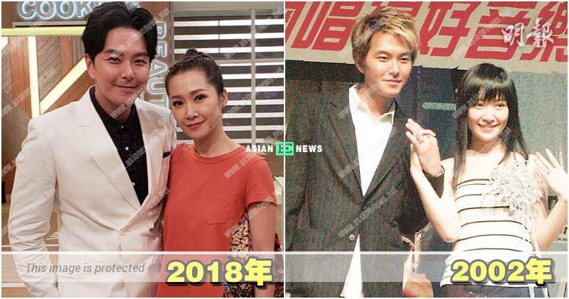 Jade Kwan and Edwin Siu joined showbiz together in 2002