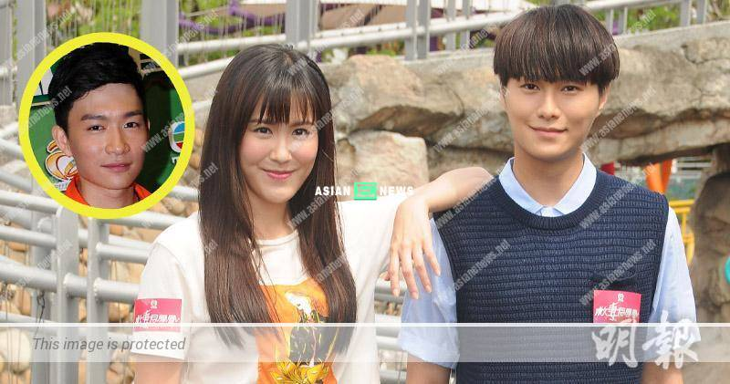 Hero saves the beauty: Moon Lau and Hubert Wu play a couple in new series