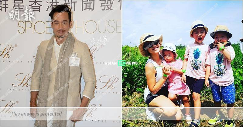 Moses Chan describes his children are clingy and treats them as adults
