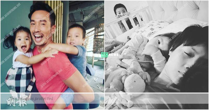 Moses Chan transforms in Super Daddy; Aimee Chan misses his muscles