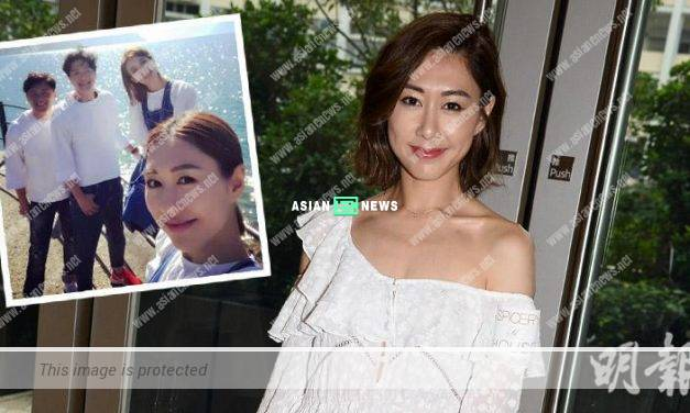 Nancy Wu hosts tour show and is cautious with Raymond Cho