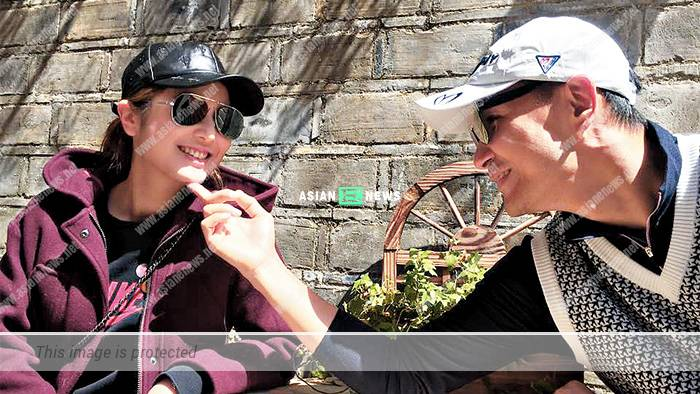 Ruco Chan takes his wife to see his good friend in Toronto