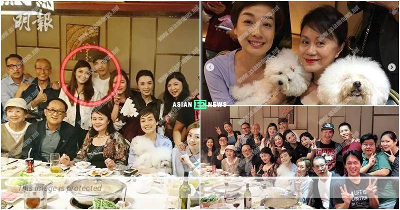 Ruco Chan introduces his wife during the dinner gathering