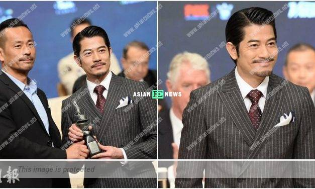 Aaron Kwok expresses his desire to become a film director