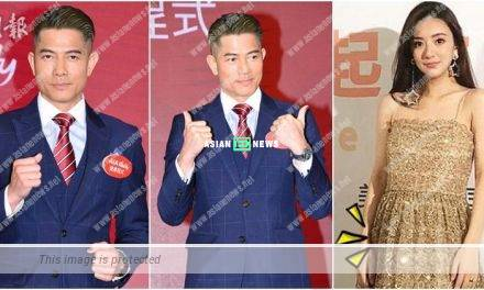 Aaron Kwok indirectly admits he is becoming a father soon