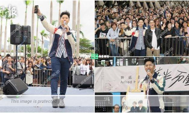Alfred Hui plans to show his muscles during the concert in 2019