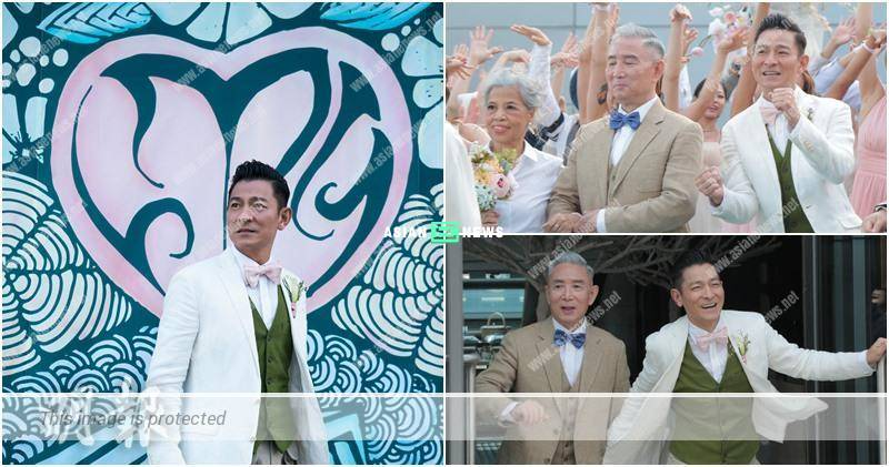 Andy Lau uses his new song, My Love to convey love message