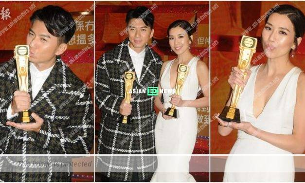 TVB Star Awards Malaysia: Benjamin Yuen and Mandy Wong became TV King and TV Queen