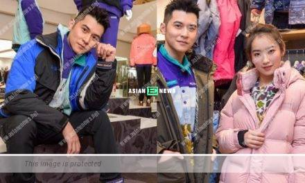 Carlos Chan calls himself as an uncle in front of 18 years old Ashley Lin