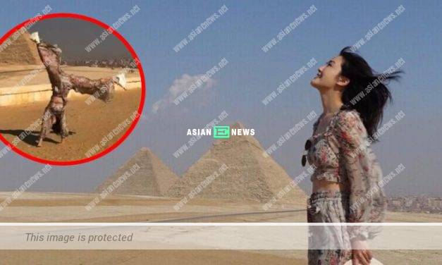 Charlene Choi feels very excited when visiting Egypt for the first time