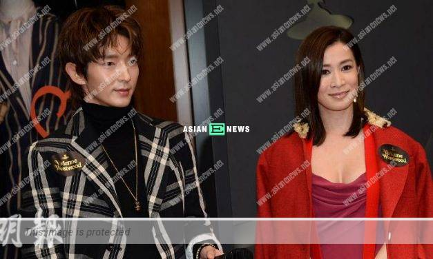 Lee Joon Gi forgets to greet Charmaine Sheh and praise she is a charming woman