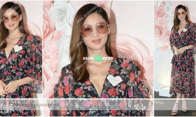 Eliza Sam hopes to pray for a son by releasing sky lantern in Taiwan