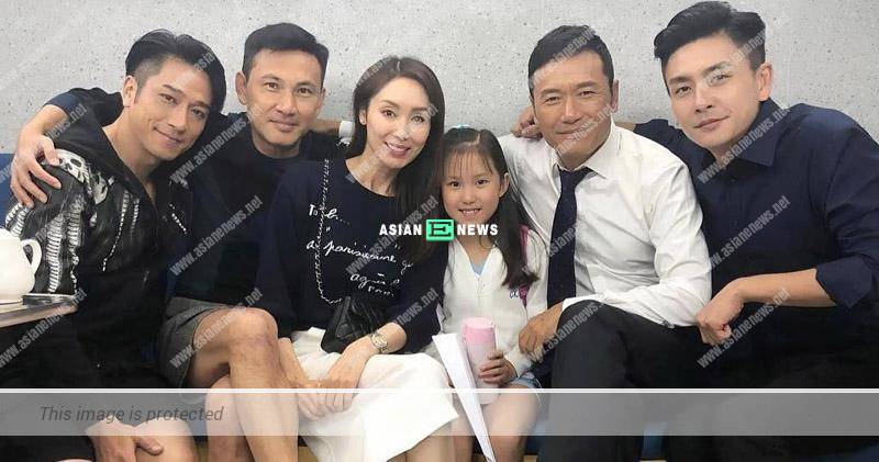 48 years old Kenix Kwok looks energetic and visits the shooting of Flying Tiger 2 drama