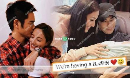Congratulations to Grace Chan becoming a mother