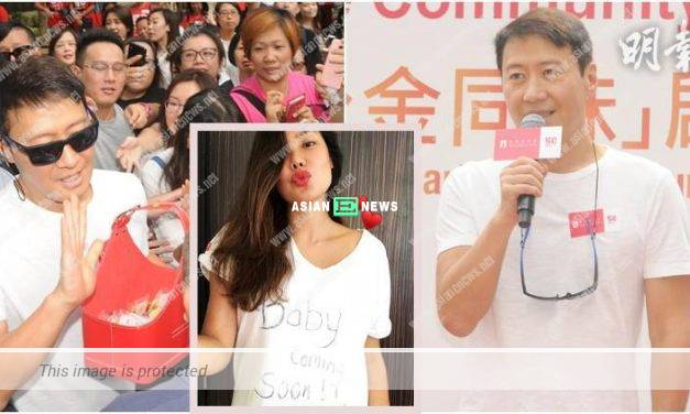 Leon Lai has no reaction when asked about his ex-spouse, Gaile Lok