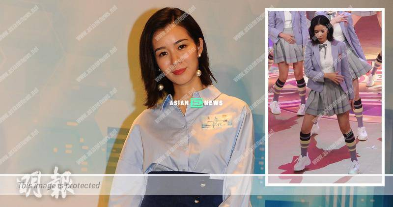 Louisa Mak appears stiff when dancing and prefers to host shows