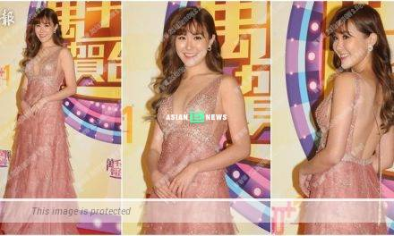 TVB Star Awards Malaysia: Moon Lau accidentally revealed her padded bra