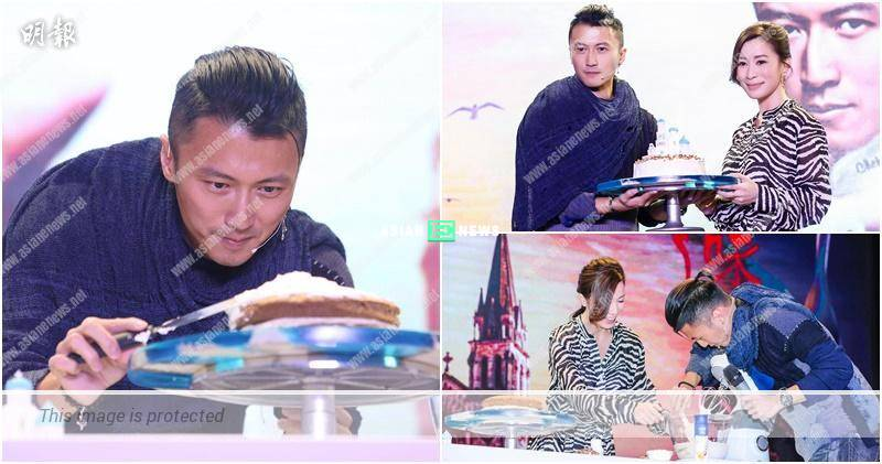 Nicholas Tse praises Charmaine Sheh is smart and bakes a cake for her