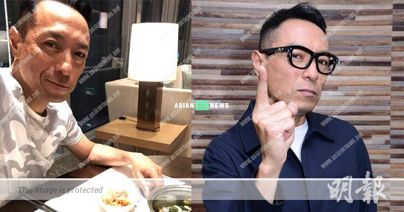 52 years old Philip Keung loses weight and looks haggard