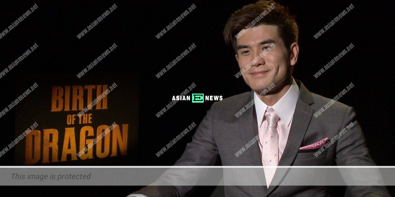 Philip Ng uses his acting skills to speak English in Hong Kong accent
